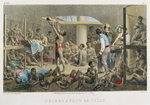 Fine Art Print of Slaves in the Hold, engraved by Deroi, published by Engelmann & Cie, 1827-35 by Johann Moritz Rugendas