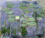 Fine Art Print of Waterlilies, 1915 by Claude Monet