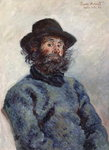 Fine Art Print of Poly, Fisherman at Belle-Ile, 1886 by Claude Monet