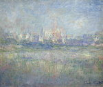 Fine Art Print of Vetheuil in the Fog, 1879 by Claude Monet