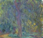 Fine Art Print of Weeping Willow, 1918-19 by Claude Monet