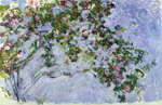 Fine Art Print of The Roses, 1925-26 by Claude Monet