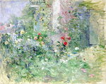 The Garden at Bougival, 1884 Poster Art Print by Albert Williams