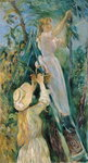 The Cherry Picker Poster Art Print by Pierre-Auguste Renoir