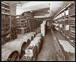Wine cellar at the Hotel Knickerbocker, 1906 Poster Art Print by English School