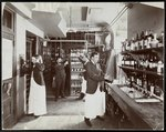 A pantry at the Hotel Manhattan, 1902 Poster Art Print by Anonymous