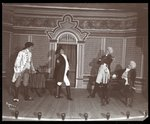 "A scene from an amateur production of ""The Rivals,"" presented at Barnard College, New York"