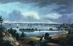 New York from Heights Near Brooklyn, 1820-23 Poster Art Print by James Rattray