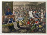 Patriotic Regeneration, -Viz.- Parliament Reform'd A la Francoise, - That Is- Honest Men Poster Art Print by James Gillray