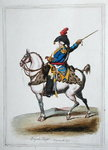 Brigade Major, published by Hannah Humphrey in 1797 Poster Art Print by James Gillray