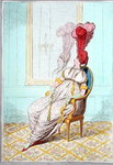 A Portrait of Modern Elegance, published by Hannah Humphrey in 1795 Poster Art Print by James Gillray
