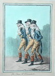 The Three Mr Wiggins's, published by Hannah Humphrey in 1803 Poster Art Print by James Gillray