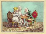 Push-Pin, published by Hannah Humphrey in 1797 Poster Art Print by James Gillray