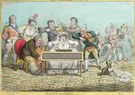 Playing in Parts, etched by James Gillray Poster Art Print by Max Ferguson