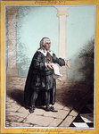 L'Avocat de la Republique, plate 7 from 'French Habits' published by Hannah Humphrey in 1798 Poster Art Print by English School