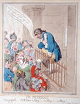 The Hustings, published by Hannah Humphrey in 1796 Poster Art Print by James Gillray