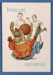 'Footballing Grandmother' from the Happy Families card game, c.1890-1900 Poster Art Print by English Photographer