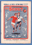 'The Scout. Special Football Number', vol. XX, no.861 Poster Art Print by P.J. Crook