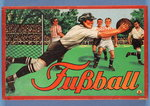 German 'Fussball' Boardgame Poster Art Print by P.J. Crook