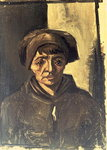 Bust of a Peasant, 1884 Poster Art Print by French School