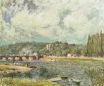 The Bridge at Sevres, c.1877 Poster Art Print by John Constable
