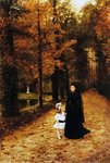 The Widow's Walk, 1887 Poster Art Print by August Macke