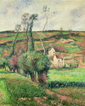 The Cabbage Slopes, Pontoise, 1882 Poster Art Print by Claude Monet