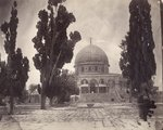 The Dome of the Rock on the Haram al Sharif in Jerusalem, from the south, 1870 Poster Art Print by Sir David Wilkie