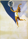 Poster for Polish gymnastics, 1946 Poster Art Print by Lincoln Seligman