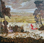 Fine Art Print of Storm Brewing, Basingstoke, 2004 by Peter Harrap