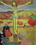 Yellow Christ, 1889 Poster Art Print by Paul Gauguin