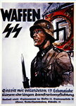 German Waffen SS recruiting poster Poster Art Print by German School