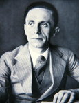 Portrait of Josef Goebbels, 1933