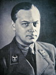 Alfred Rosenberg, 1940 Poster Art Print by German Photographer