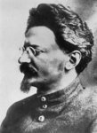 Leon Trotsky Poster Art Print by Russian Photographer
