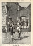 Hannah Snell, enlisting in King George II's Army, illustration from 'Munsey's Magazine' Poster Art Print by Samuel Wale
