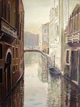 Venetian Life Poster Art Print by Timothy Easton