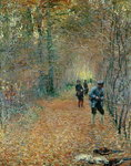 The Shoot, 1876 Poster Art Print by Alfred Sisley
