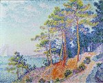 St. Tropez, the Custom's Path, 1905 Poster Art Print by Paul Gauguin