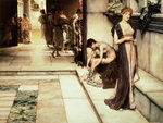 An Apodyterium, 1886 Poster Art Print by Sir Lawrence Alma-Tadema