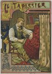 The upholsterer, c.1900 Poster Art Print by Carol Tatham Smith