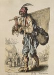 Captain of Bohemians, after Jacques Callot Poster Art Print by Pieter the Elder Bruegel