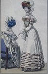 Fashion plate, Paris, illustration from 'Le Petit Courrier des Dames', c.1820 Poster Art Print by Lincoln Seligman