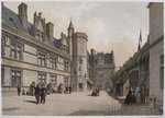 Cluny Hotel and Museum, Paris, illustration from 'Paris dans sa splendeur', published by Henri Charpentier, 1861 Poster Art Print by Philippe Benoist