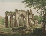 Furness Abbey, Lancashire, 1810 Poster Art Print by Thomas Hearne