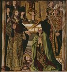 The beheading of St. Thomas in India Poster Art Print by Benozzo di Lese di Sandro Gozzoli