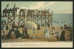 Postcard depicting the Baths Marie-Christine at Le Havre, c.1900 Poster Art Print by French Photographer