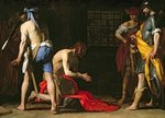 The Beheading of John the Baptist, 1634 Poster Art Print by Sano di, also Ansano di Pietro di Mencio Pietro