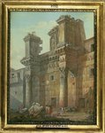 Forum of Nerva Poster Art Print by Giovanni Battista Piranesi
