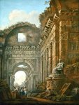 Architectural Ruins, 1765 Poster Art Print by Giovanni Battista Piranesi